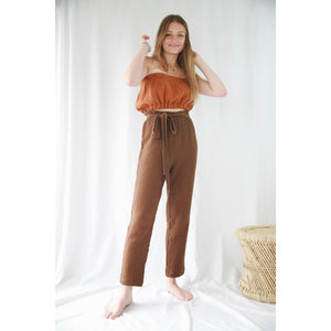 Paperbackpants choc woman