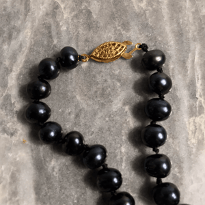 Akoya Black Pearl Necklace