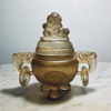Chinese Carved Peking Glass Censer