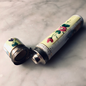 Antique Porcelain Perfume Bottle