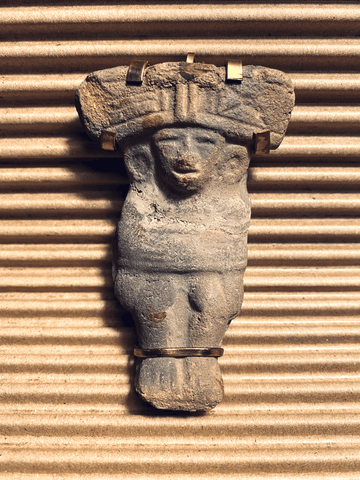 Pre-Columbian Relic Wearable Sculpture by Annette Nancarrow