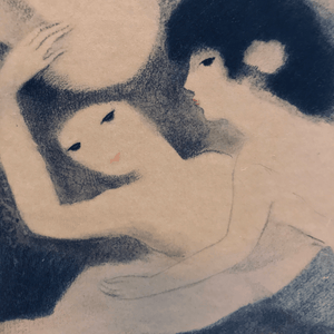 Marie Laurencin Two Women with Horse