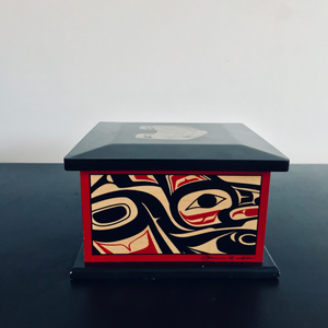 Haida Box by Clarence A. Wells