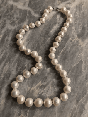 Akoya White Pearl Necklace