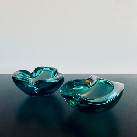 Murano Art Glass Duet