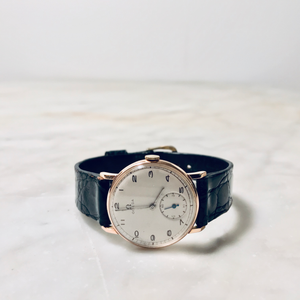 Omega Rose Gold Wristwatch