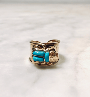 18K Egyptian Scarab Ring