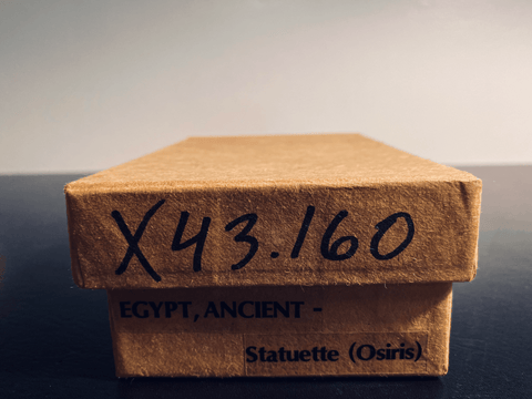 EGYPT ANCIENT - Statuette (Osiris) Ex-Museum