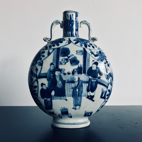 Chinese Moon Flask