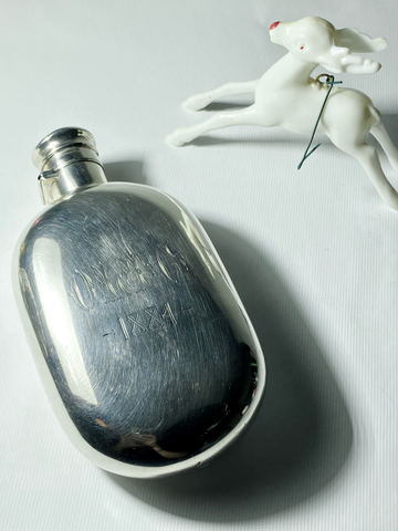 Sterling Silver Flask c. 1884
