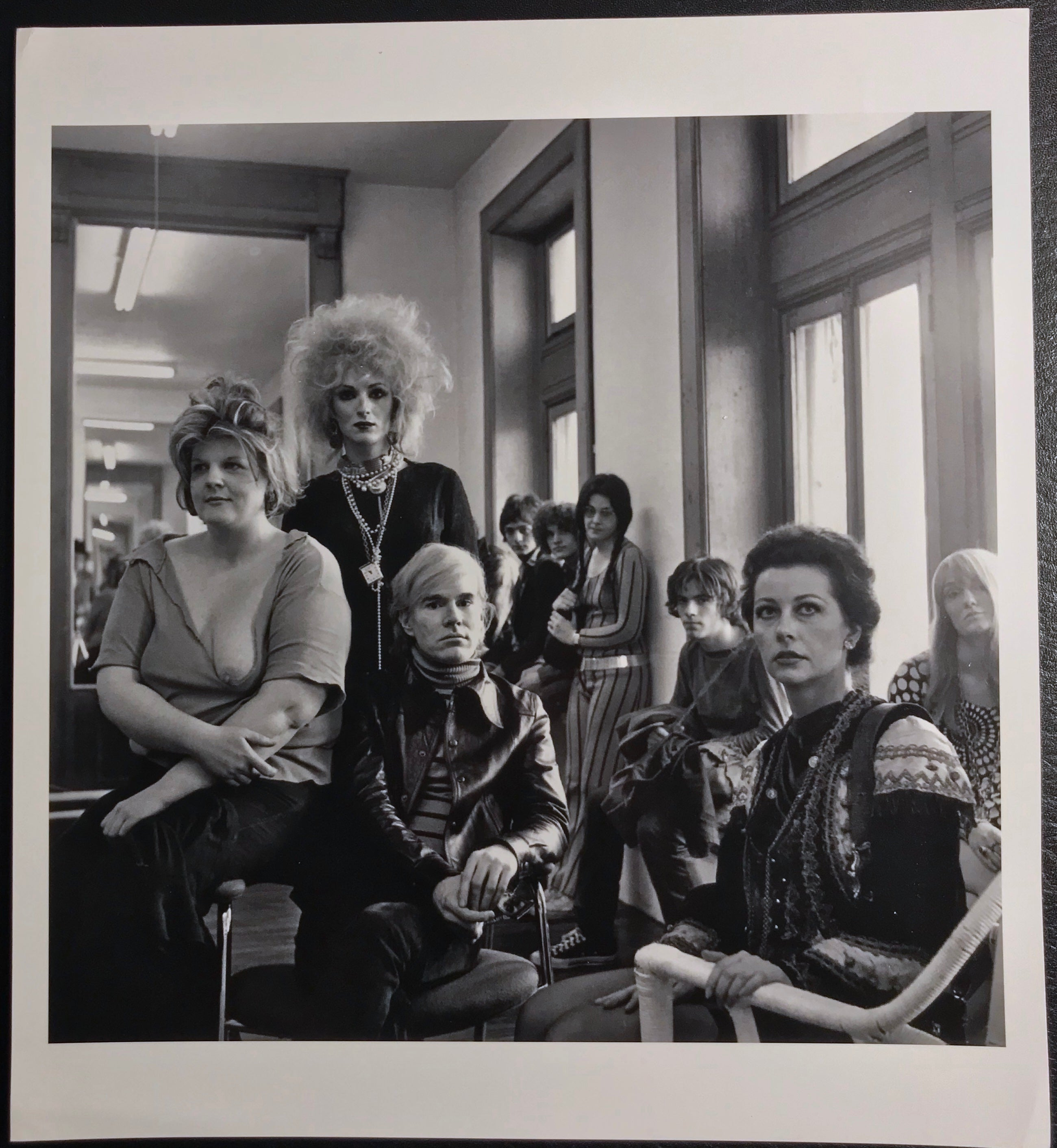 Andy Warhol & The Factory, Cecil Beaton, 1969