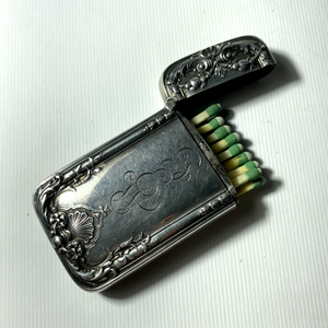 Sterling Match Safe c. 1900