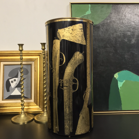 Piero Fornasetti Umbrella Stand c.1960