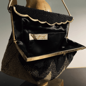 1940's French Art Deco Evening Bag from Bags by Josef