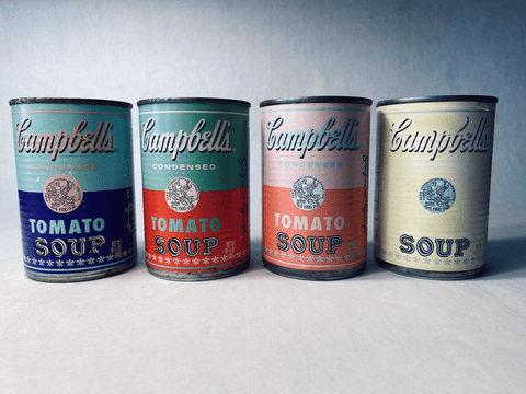 Andy Warhol Campbell's Soup Cans circa 2003