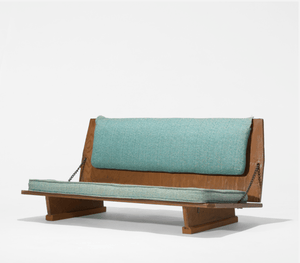 FLW 51 Bench from the Unitarian Meeting House | Frank Lloyd Wright