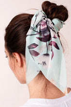 Load image into Gallery viewer, Mint Floral Hair Scarf