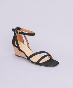 Westwood Black Wedge Sandal