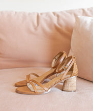 Load image into Gallery viewer, Summer Tan Cork Sandals