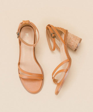 Summer Tan Cork Sandals
