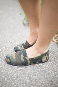 Camo Slip On Shoes