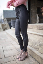 Load image into Gallery viewer, Snake Skin Faux Leather Leggings