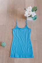 Load image into Gallery viewer, Basic Scoopneck Tank in Blue