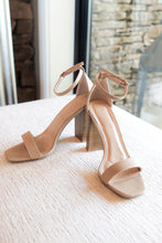 Load image into Gallery viewer, Marissa Heeled Sandals in Taupe