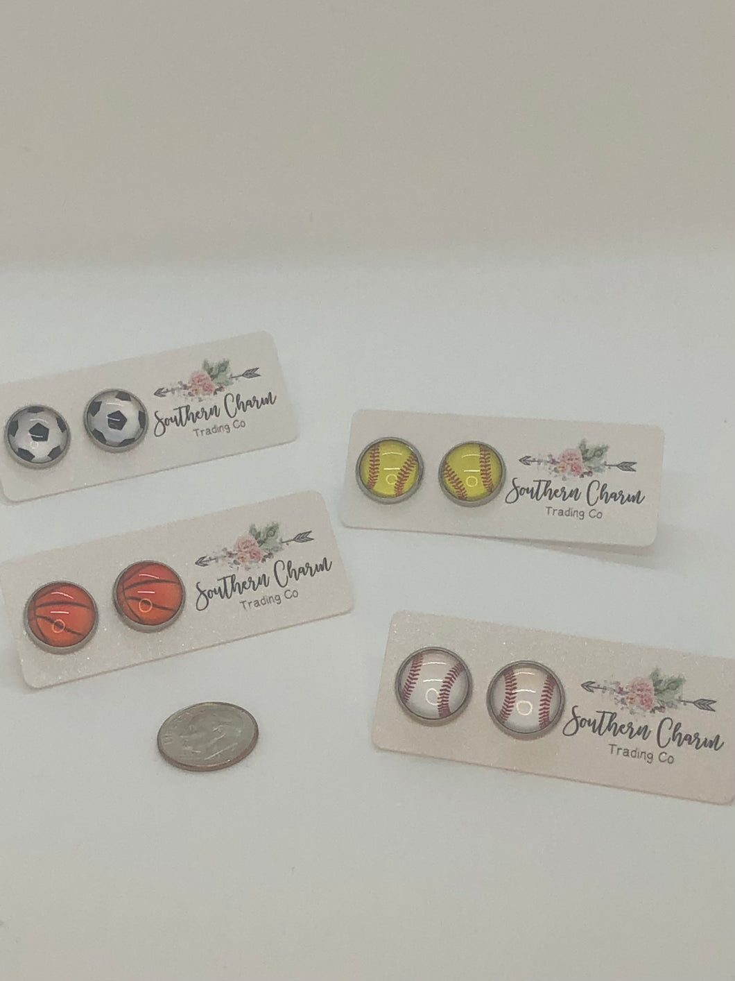 Sports Collection Stud Earrings