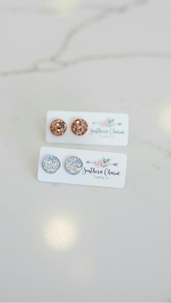 Druzy Studs - Two Colors
