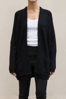 BELINTA Cardigan Sort