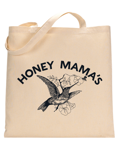 Honey Mama's Cotton Canvas Tote Bag