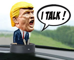 Trash Talking President Trump Bobblehead
