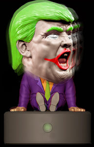 Joker Trump Bobble Head - Non-Talking