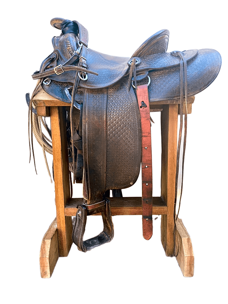 "14"" Semi QH Roper saddle"