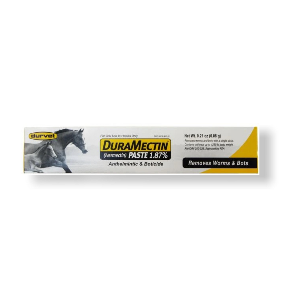 Duramectrin paste (1.87% Ivermectrin)-EXP Date SEPTEMBER 2022