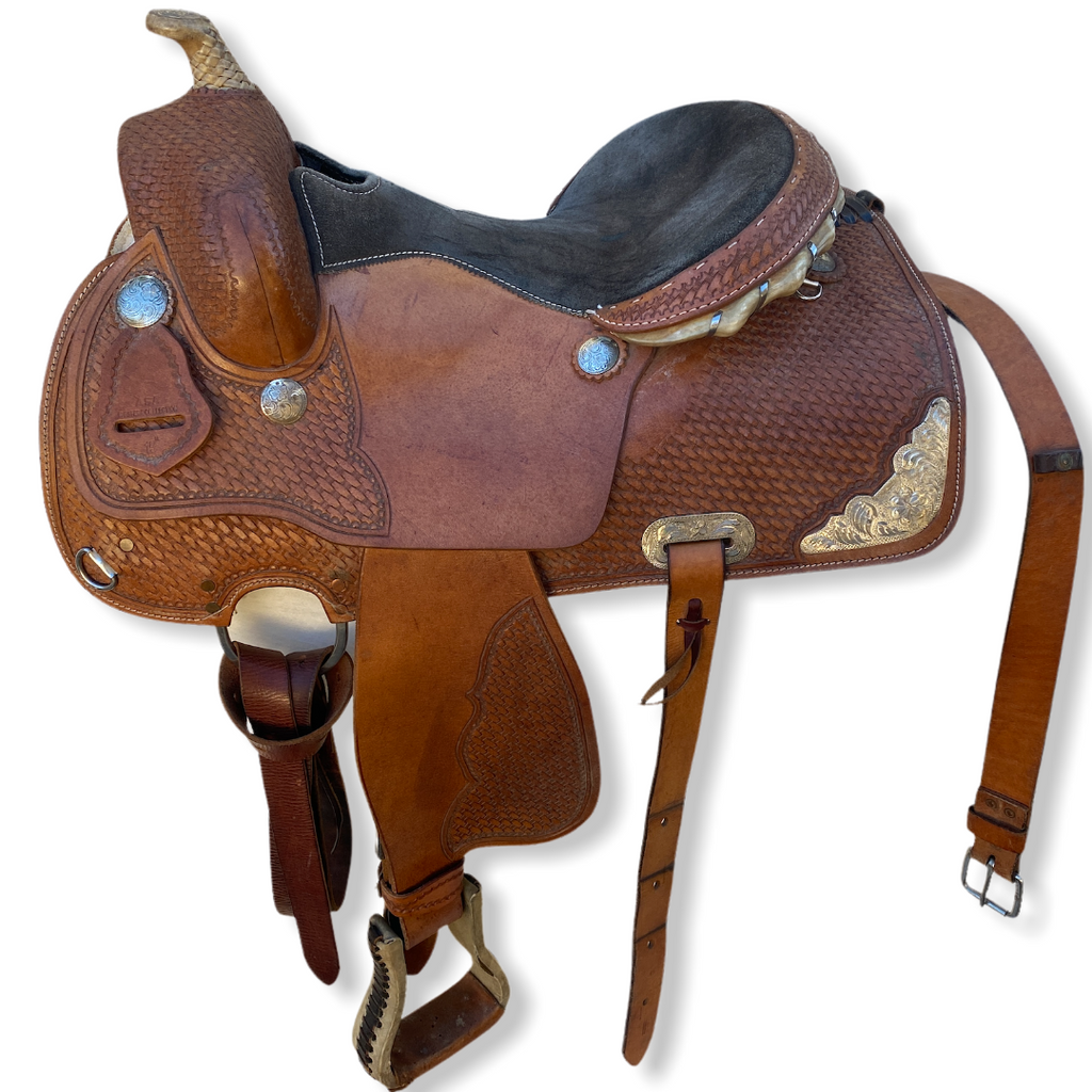 "14,5""/15"" ASA western collection western saddle"