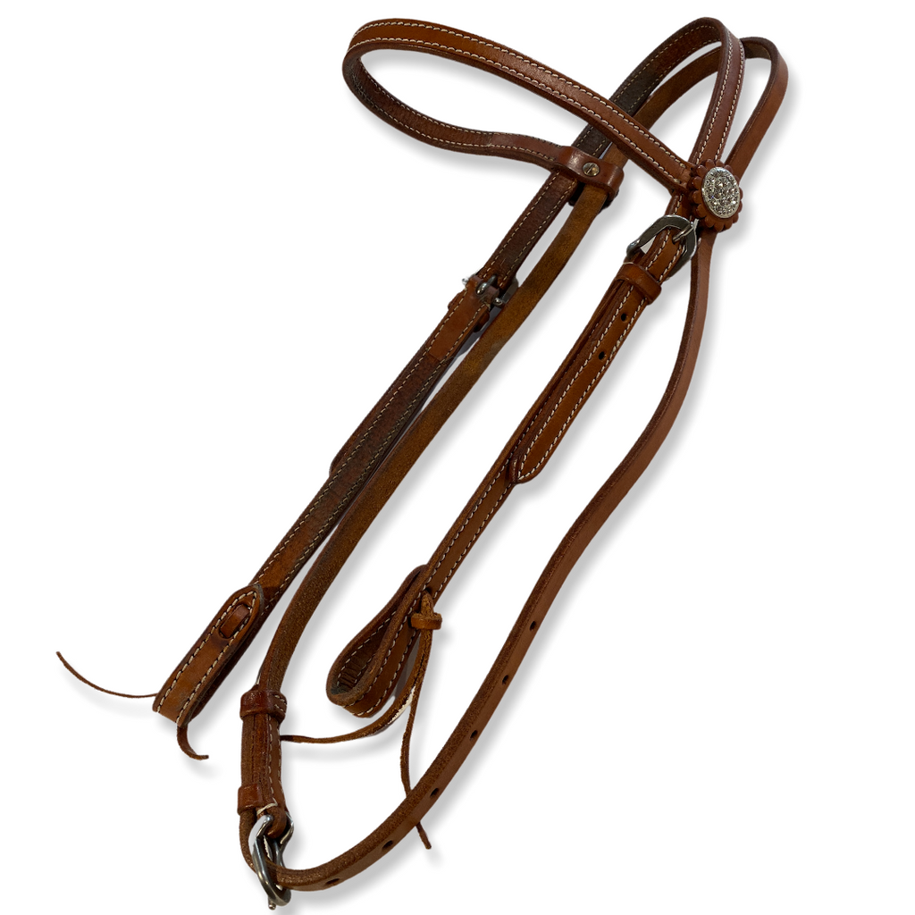Light oil bling Headstall
