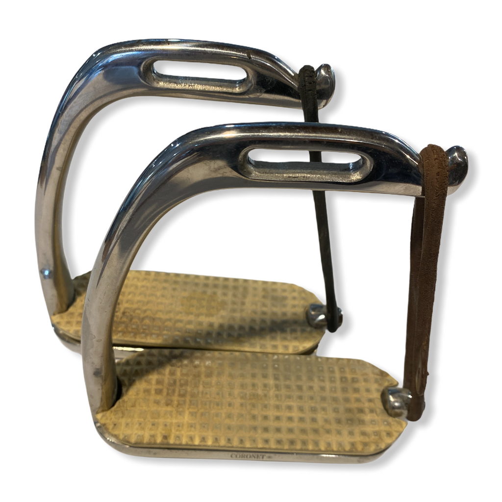 "5"" English Coronet Safety Stirrup Irons"