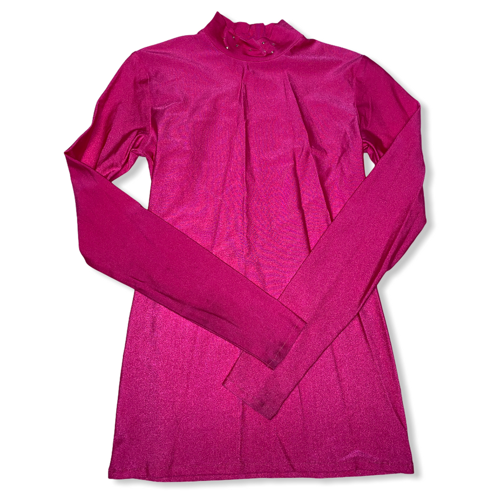Ladies small pink turtle neck shirt