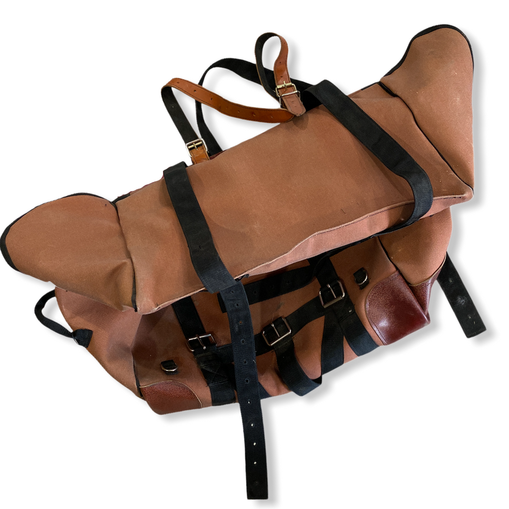 Outfitters Supply Deluxe Canvas & Leather Panniers
