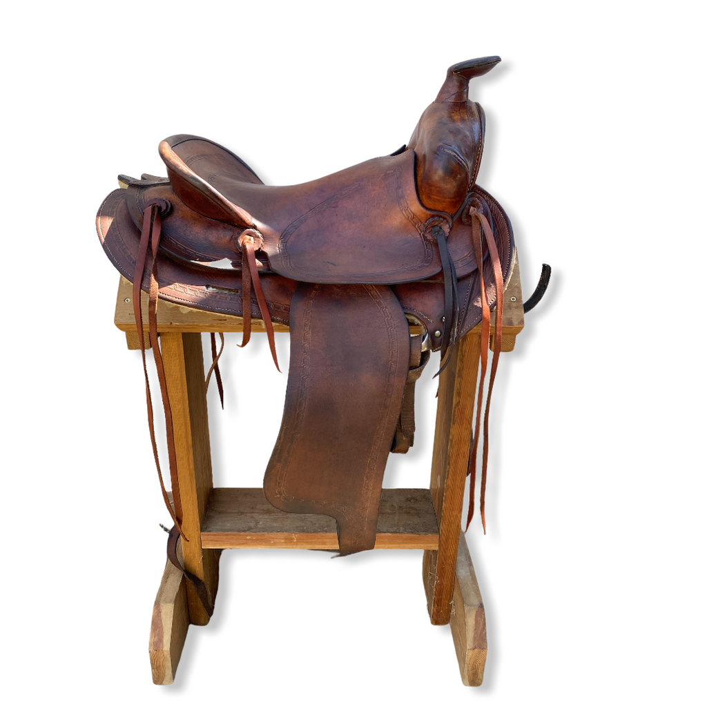 "15"" Simco narrow western saddle 5,5"""