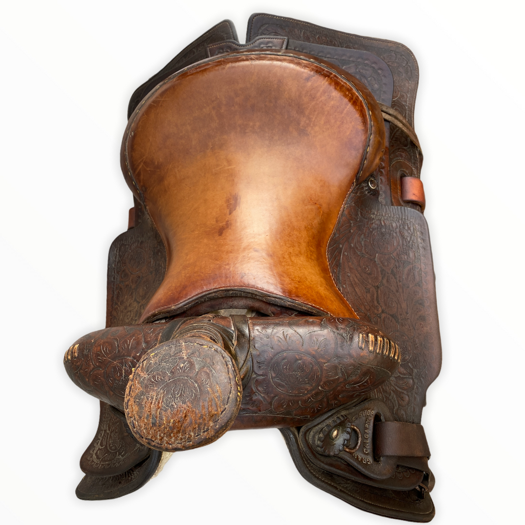 "14"" Grand saddle shop Calgary saddle"