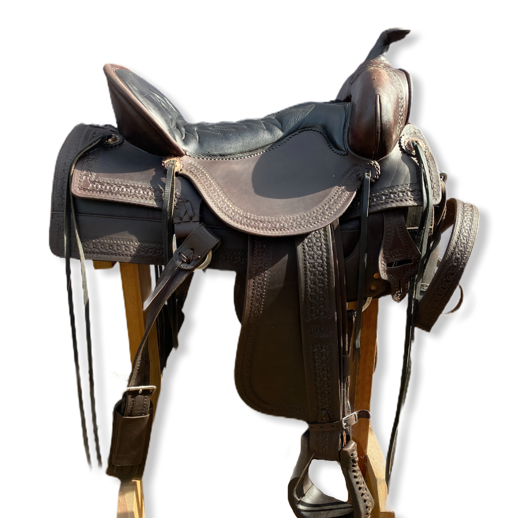 "17,5"" Tucker Old West Trail Saddle"