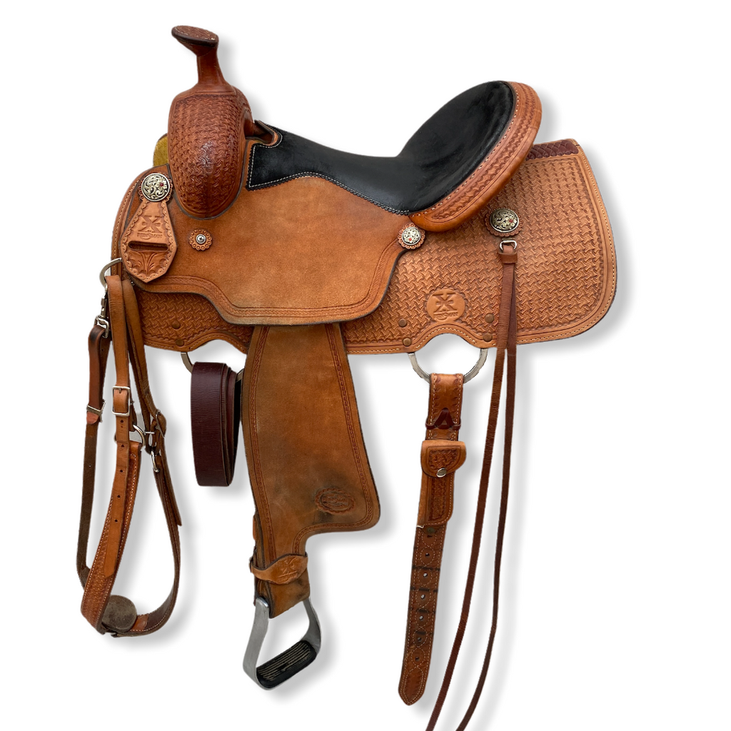 "14""/15"" Reinsman All Around Saddle 4504"