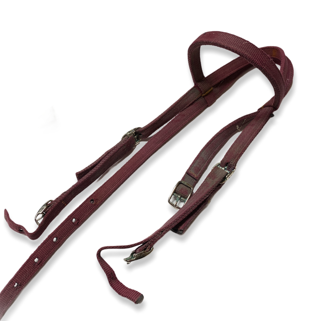 Nylon bridle red