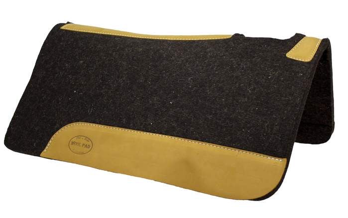 100% WOOL WESTERN SADDLE PAD 3/4""