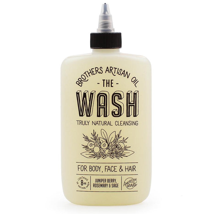 Brothers Artisan Oil The Wash Juniper Berry, Rosemary, & Sage