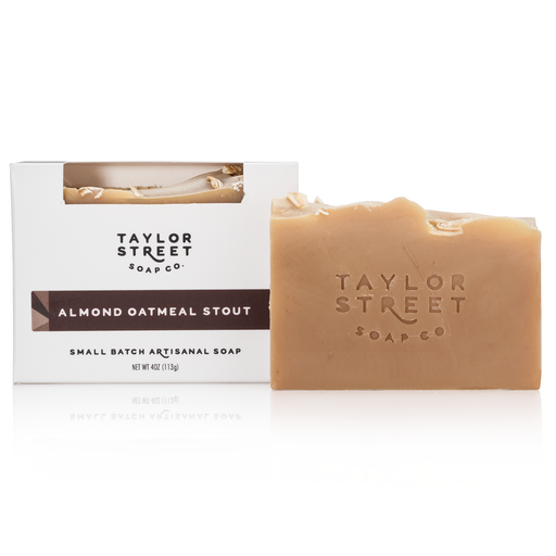 Taylor Street Soap Co. Almond Oatmeal Stout Beer Soap