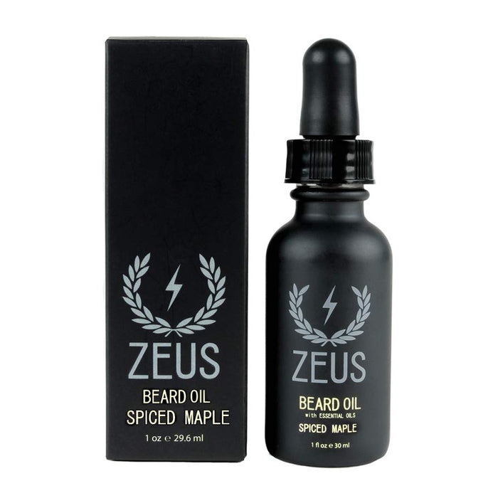 Zeus Beard Oil Spiced Maple